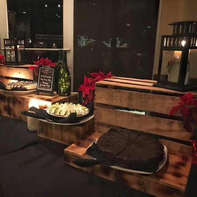 Holiday desserts at Houck's! 🍰🍪🥧 #tastytreats #keylimepie #nycheesecake #chocolatetorte #yum #houcksgrille #roswellga