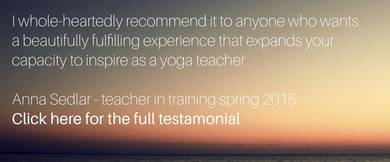 Yoga Internship Program, Medellín, Colombia, South America - teach and work in a yoga studio - teastimonial 9