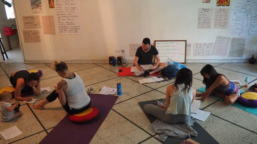 Yoga Internship Program, Medellín, Colombia, South America - teach and work in a yoga studio - photos February 13