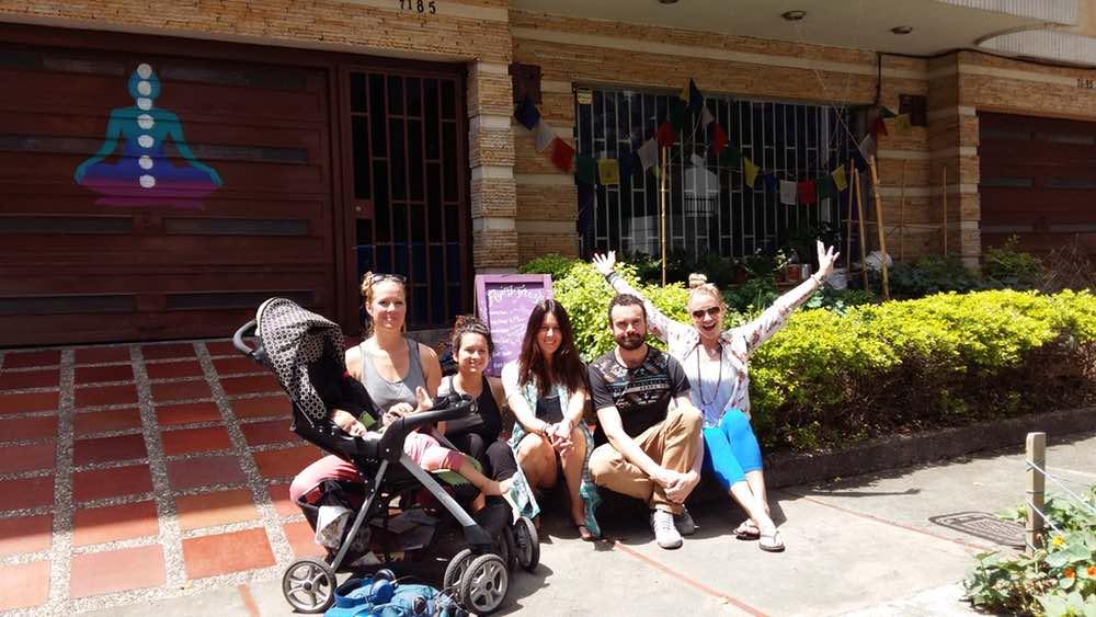 Yoga Internship Program, Medellín, Colombia, South America - teach and work in a yoga studio - photos February 15
