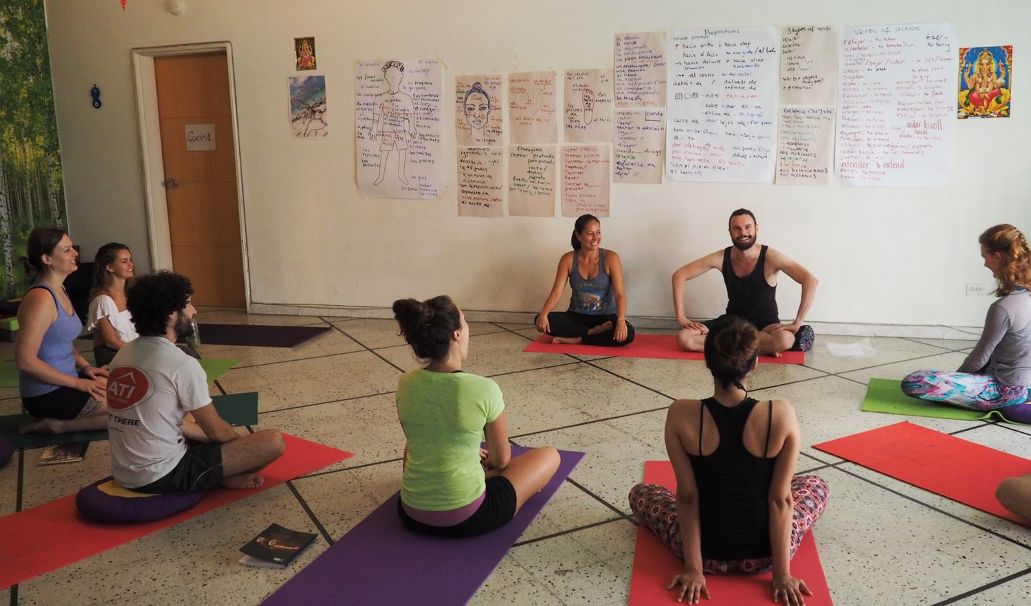 Yoga Internship Program, Medellín, Colombia, South America - teach and work in a yoga studio - dates and prices 3