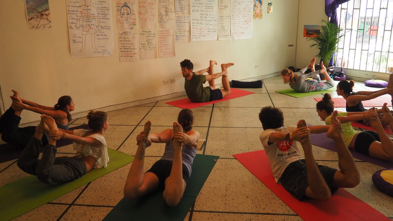 Yoga Internship Program, Medellín, Colombia, South America - teach and work in a yoga studio - continuing education 2