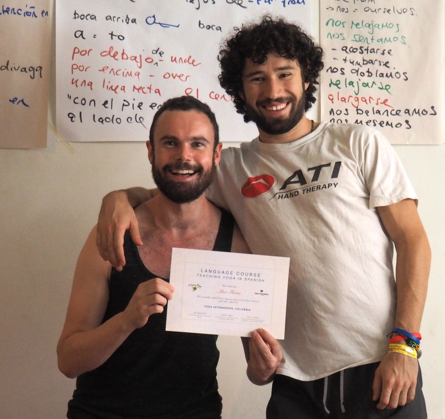 Yoga Internship Program, Medellín, Colombia, South America - teach and work in a yoga studio - continuing education 4