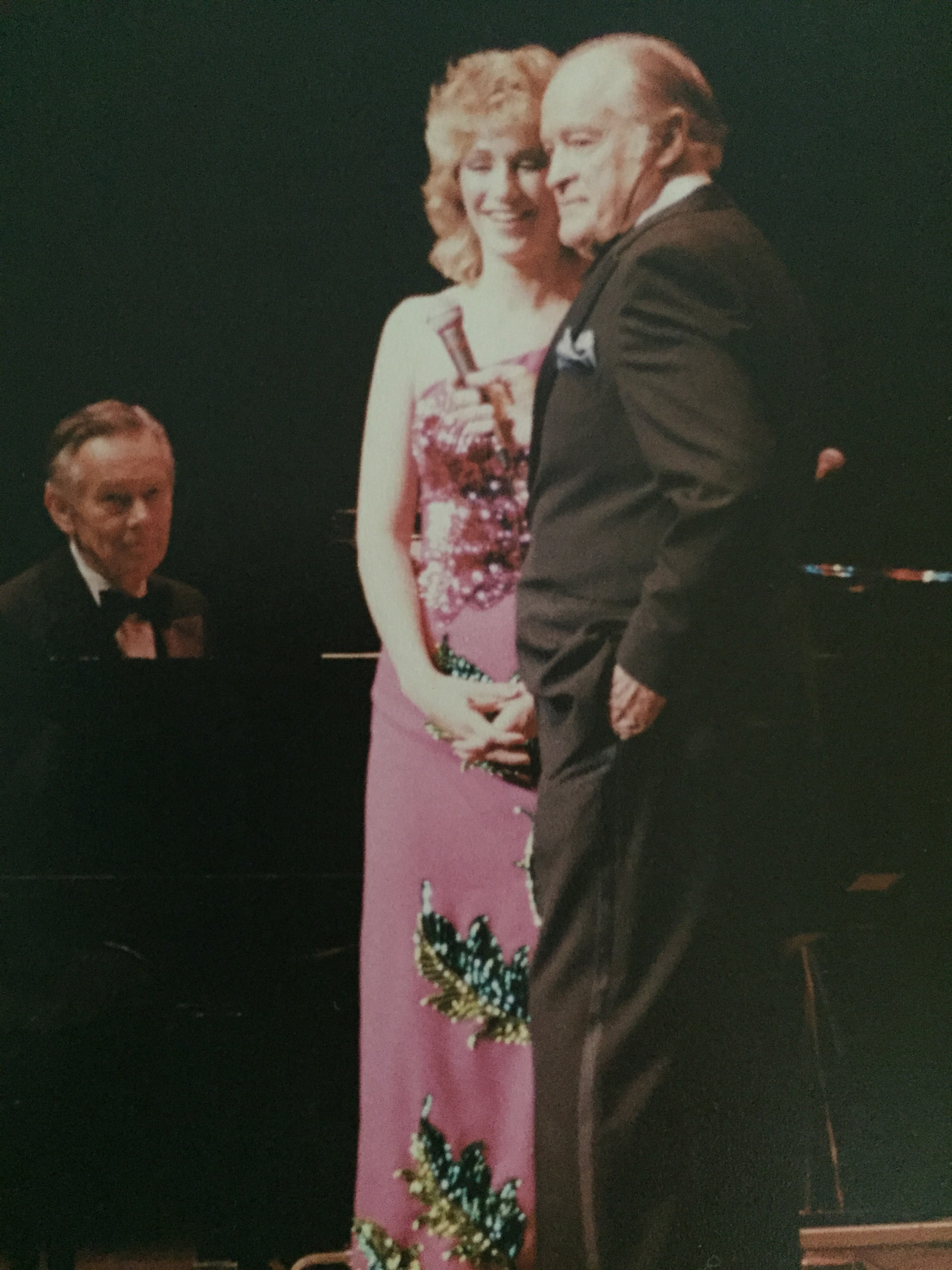 Bobbie Ward and Bob Hope
