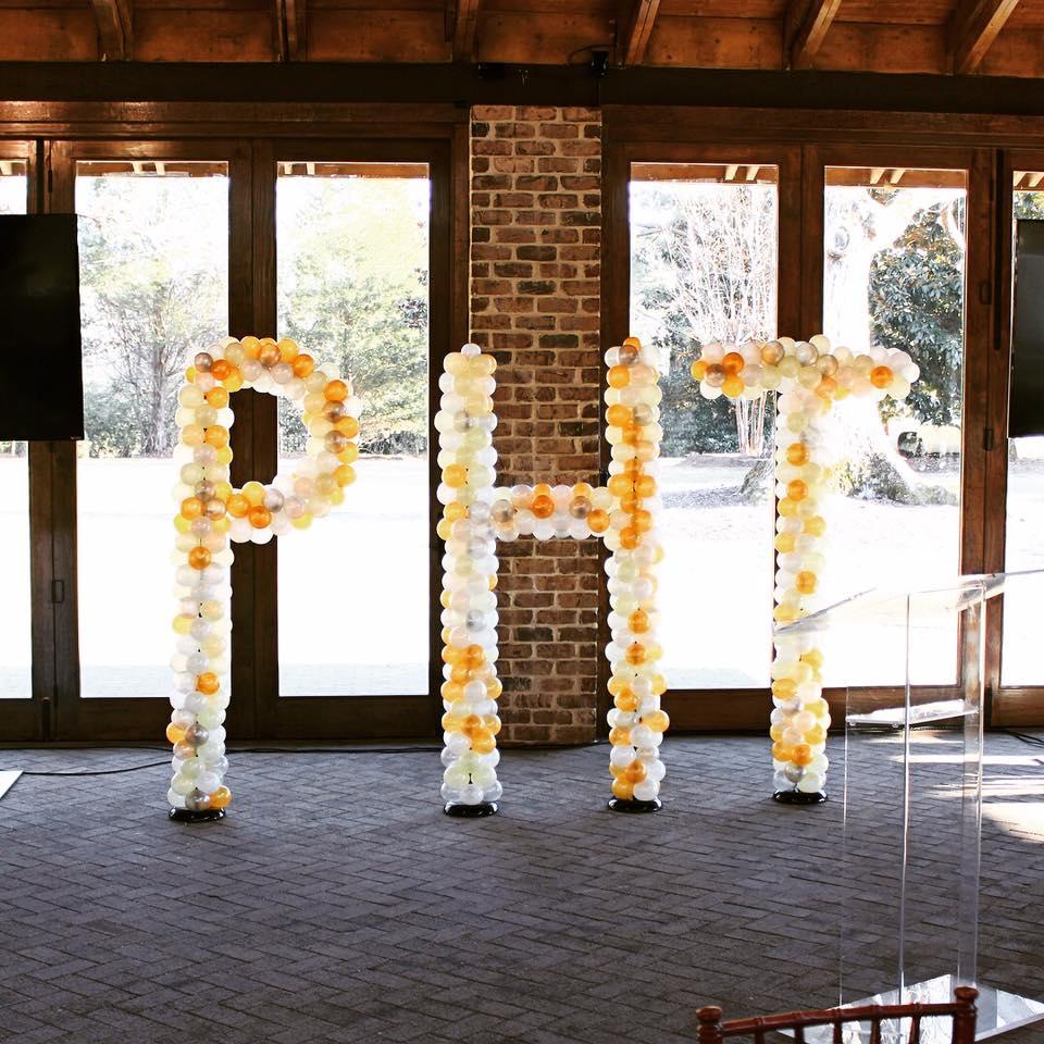 Large Letter Sculptures