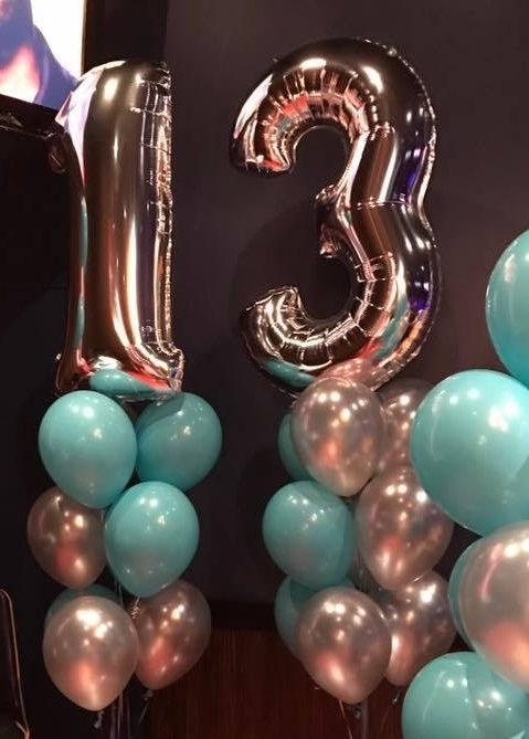 Floor Balloon Bouquets