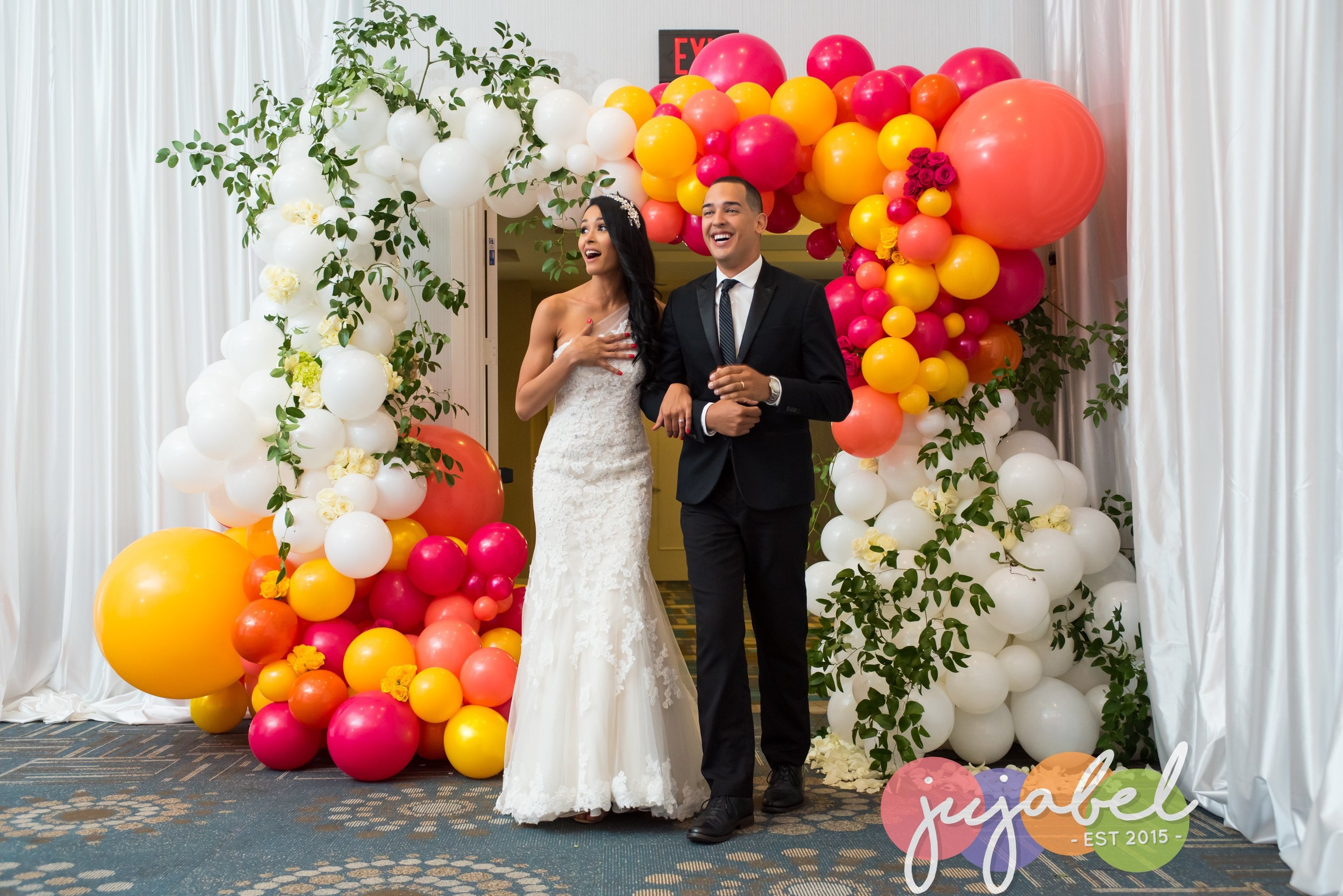 Organic balloon arch with florals.JPG