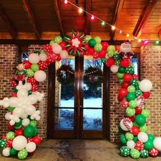 Christmas theme Organic Arch