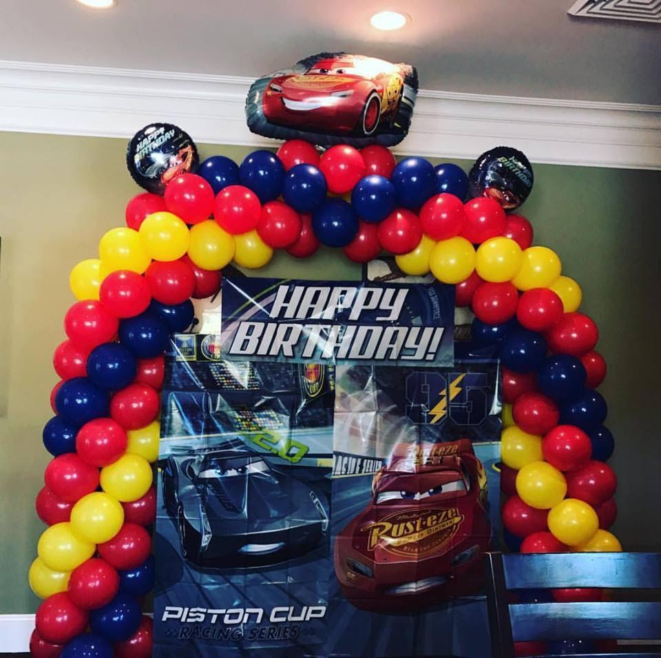 Cars Theme Arch