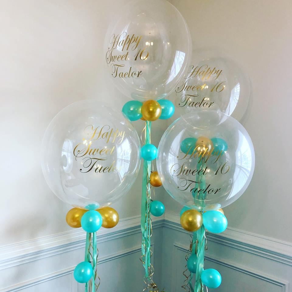 Custom Print Bubbles