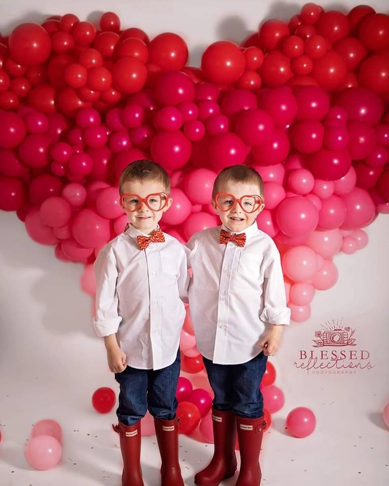 Ombre' Balloon Heart Sculpture