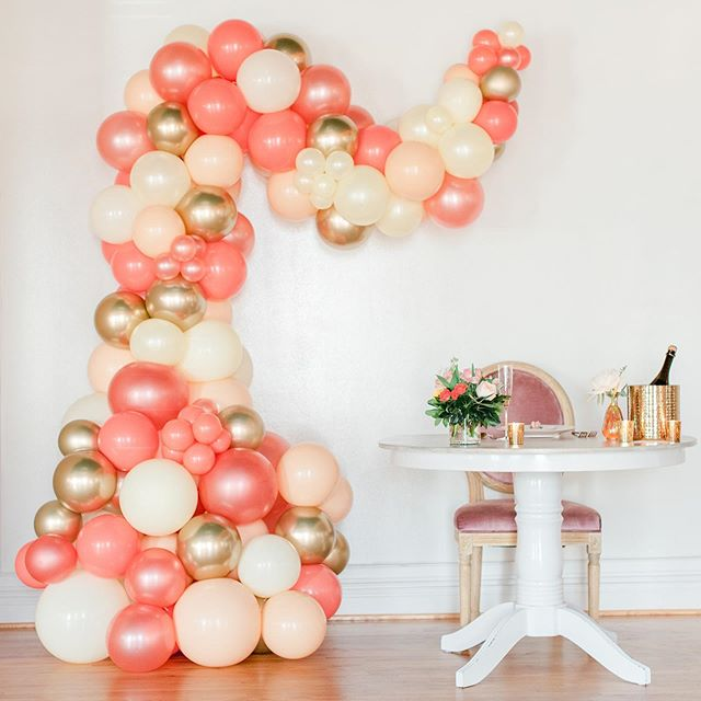 The perfect accent piece to any memorable event is a beautiful balloon  organic demi arch. This one served as a backdrop for this lovely Bridal Shower Brunch @durhamweddingexchange  The entire team did a wonderful job!  Balloons by us! • planning @premierpartyplanners @tara_premierpartyplanners • Venue @durhamweddingexchange • Photography @amiebabo • Rentals @ce_rental • Florals & Wardrobe @trebellainc • Catering @crepetimecatering • Makeup @theresaburdenbeauty • Hair Lilian Beck • Decor @greenhousepickersisters • Desserts @slicepiecompany  #balloons #balloondecor #balloongarland #balloonarch #organicballoondecor #organicballoonarch #organicballoondemiarch #wedding #weddingvenue #bridalshower #brunch #event #eventplanner #ncevents #durham