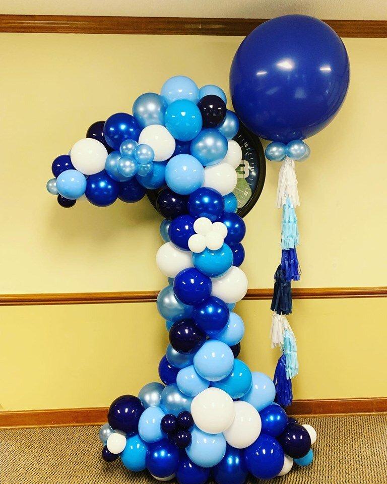 Number Balloon Sculpture