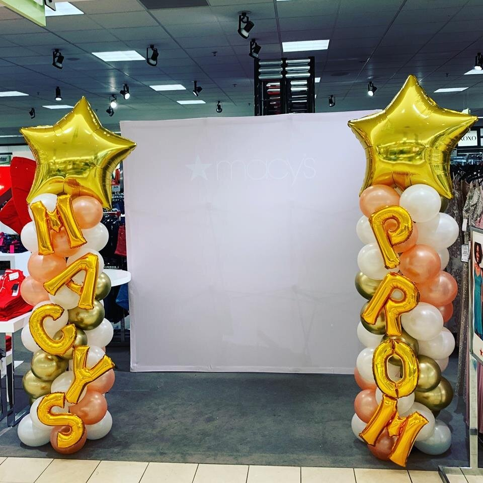 Balloons for Store Promo