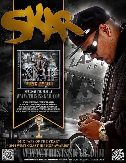 Awarded 2014 Mix tape of the Year  Presented by The West Coast Hip Hop Awards