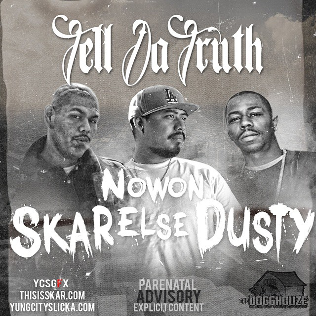 """Get ready for the release of my newest song """"Tell Da Truth"""" ft. Skar, @dustytherapper , & @nowon_else . Will be filming a music video for this song. This will be featured on my album """"S.elling K.ane A.nd R.eefer"""". Stay tuned. Will upload in one hour.  Gra"""