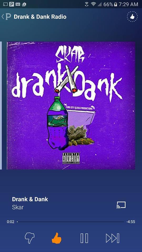 Drank & Dank - Pandora screenshot