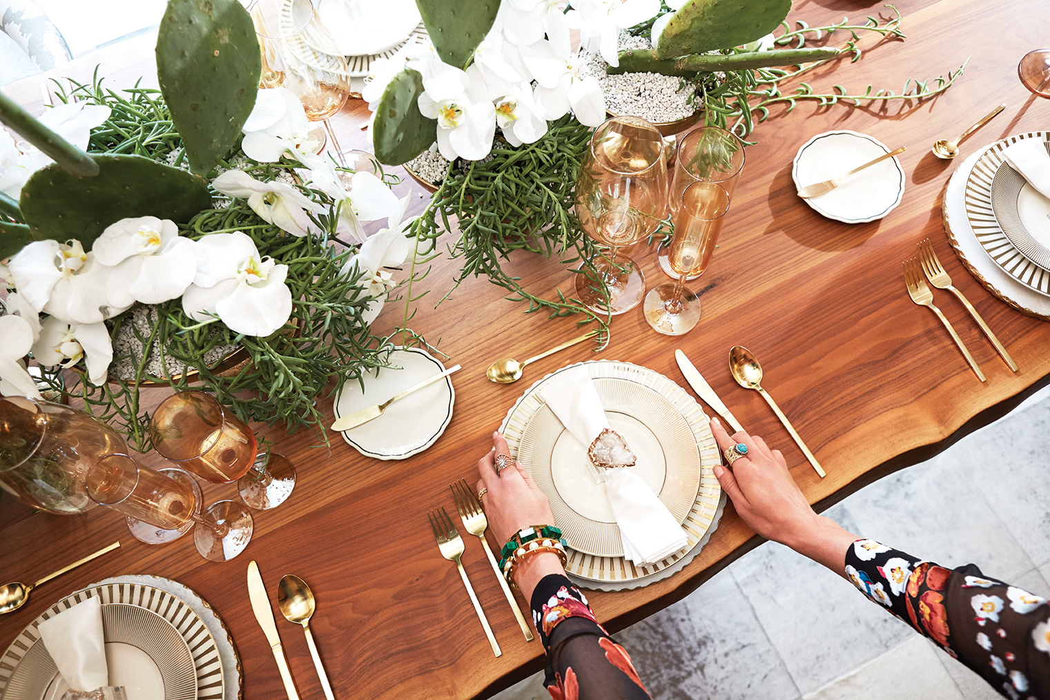 Photo: Steven Visneau; Tabletop styling: Gro Designs