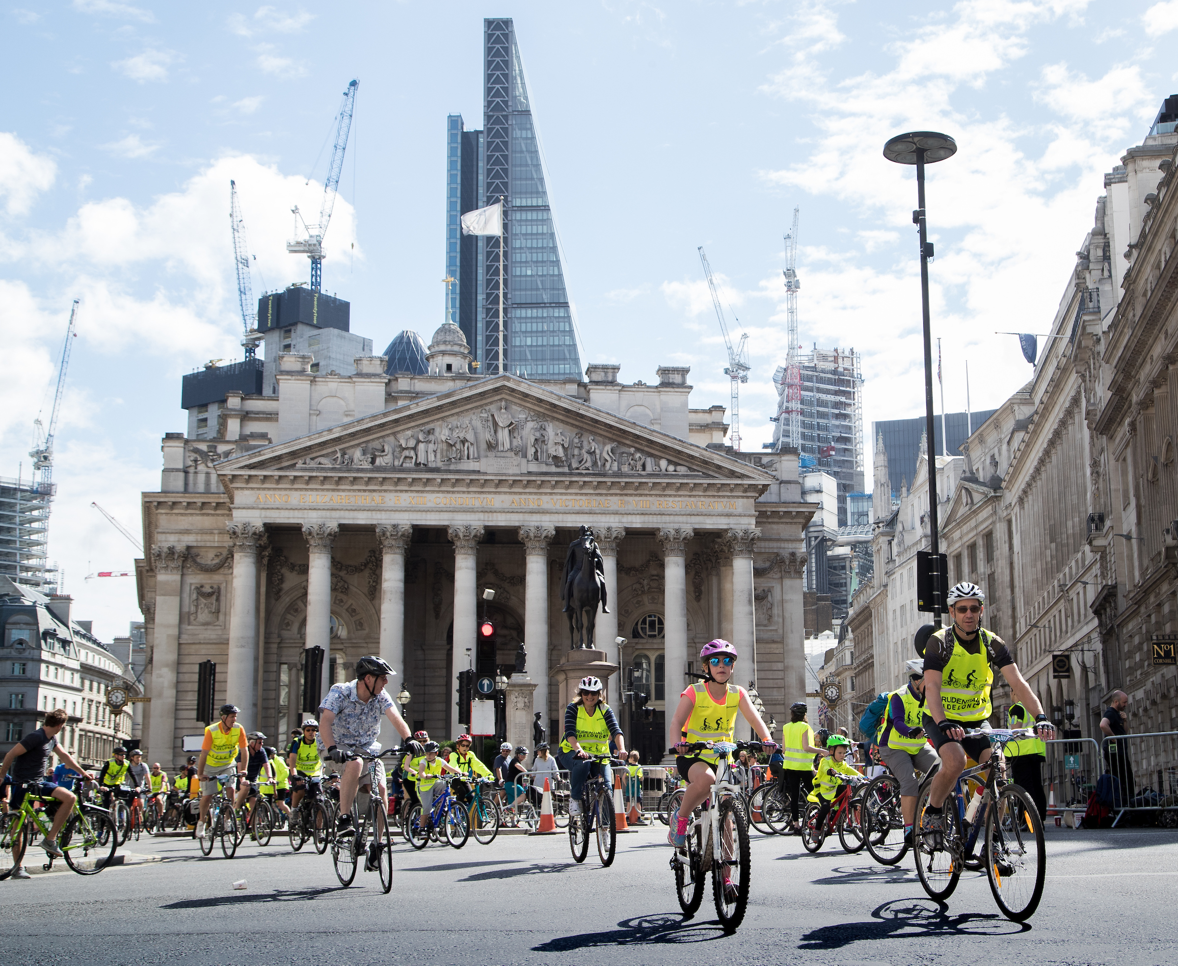 Jed Leicester Silverhub for Prudential RideLondon