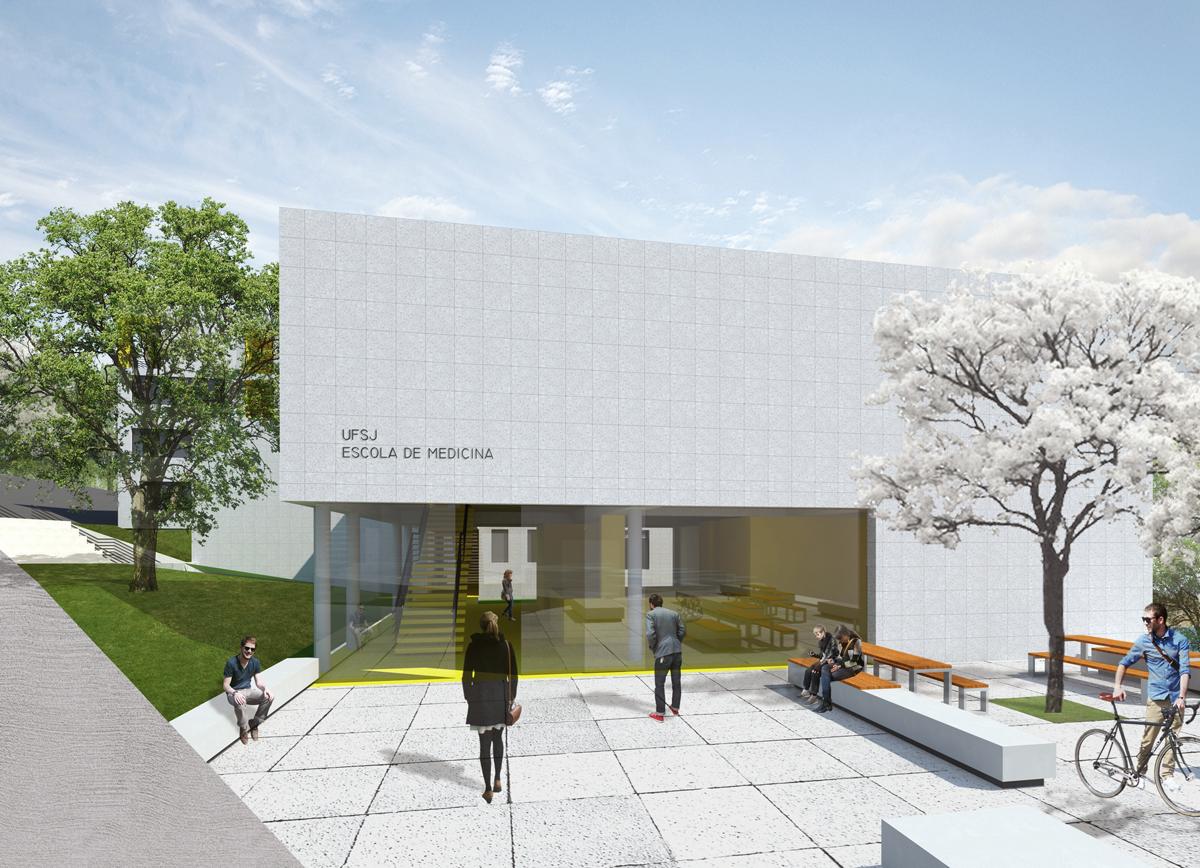 Projeto da Escola de Medicina da UFSJ - Universidade Federal de São João Del Rey