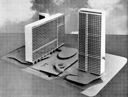 Conjunto JK, Arquiteto Oscar Niemeyer, Belo Horizonte. Fonte:http://www.vitruvius.com.br/revistas/read/arquitextos/13.151/4632