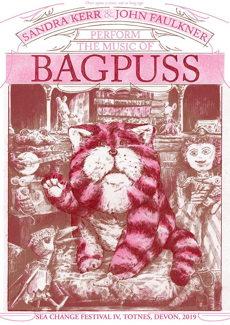 Luke Drozd's Bagpuss screenprint.