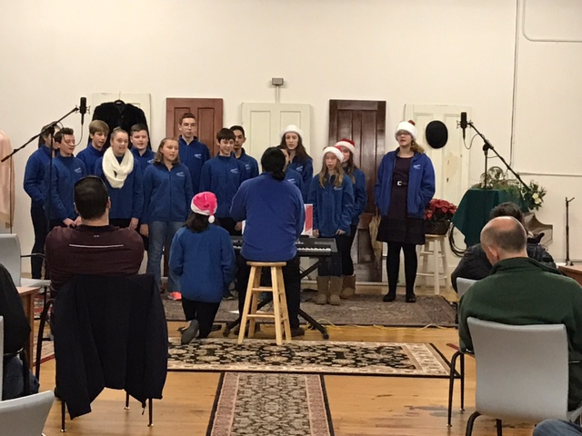 "Hall Memorial School ""Select Chorus"" under direction of Jason Philips"