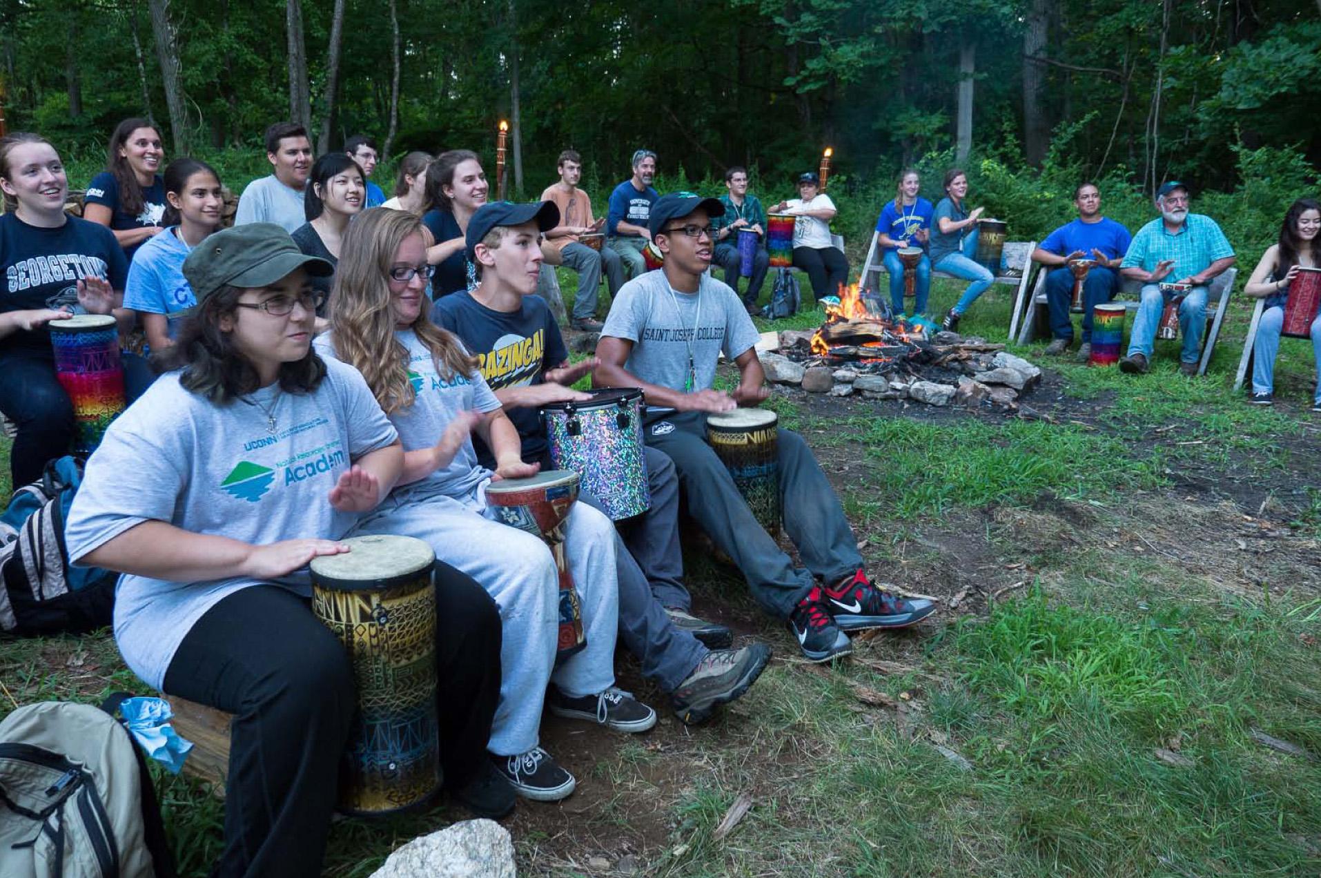 Photo of Campers Drumming.jpg