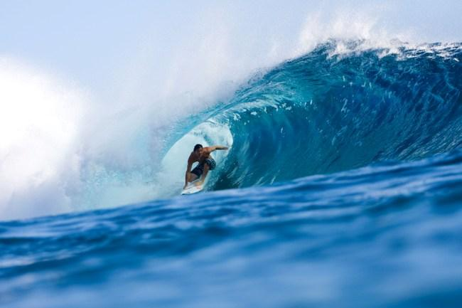 Courtesy:Jordy Smith Free Surfing at Teahupoo