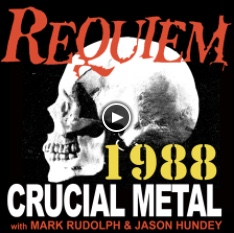 Our Crucial Years in Metal countdown - 1988!
