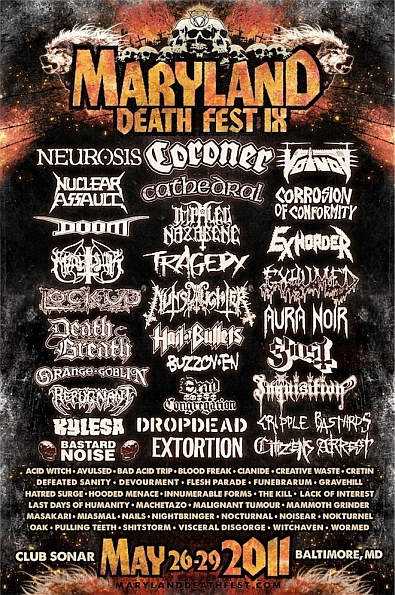 Our coverage of Maryland Deathfest 2011