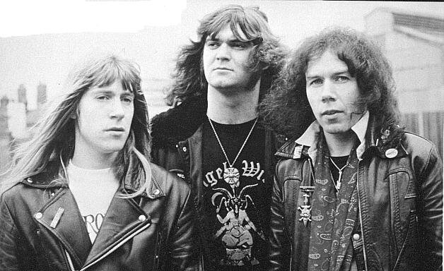 This episode we discuss the NWOBHM legends, Angel Witch.