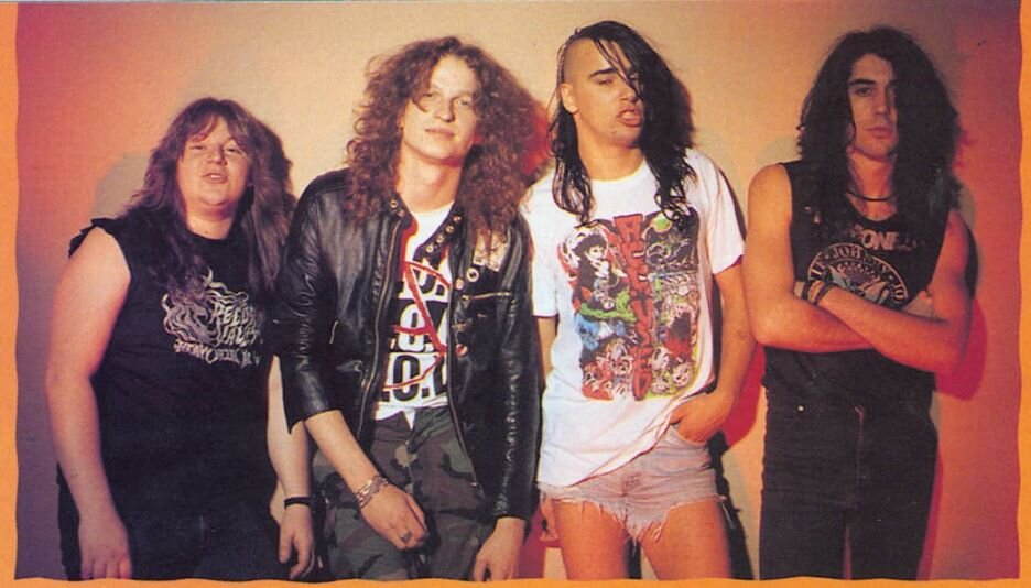 Canadian punk, metal weirdos Voivod are discussed in length.