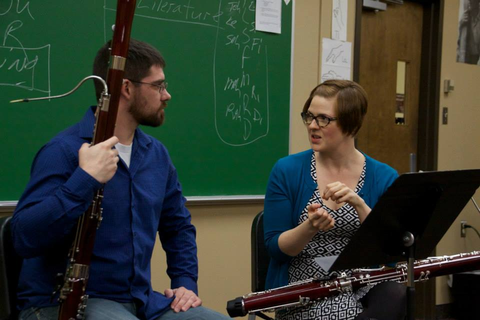 the wvu bassoon experience - I know what it's like to have a calling and wonder how—or if—I will achieve it. That's why my goal as a teacher is to give each student the tools to master the instrument and pursue their dreams.