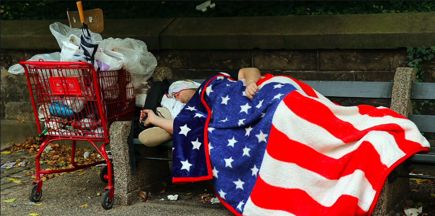 Homeless in the USA (huffingtonpost)