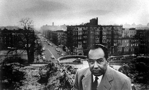Langston Hughes in Marcus Garvey Park (lawrencejournal)