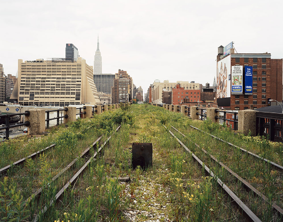 Who is better off now? (Friends of the High Line)