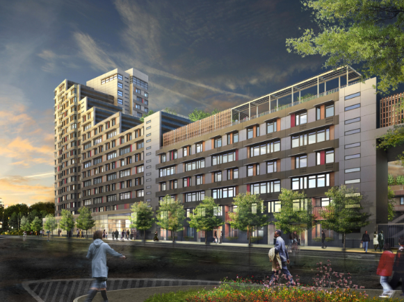 Via Verde (2012) in South Bronx is beautiful, but 800 families wanted spots for just 151 rental units. Is this a successful model? (inhabitatnyc)