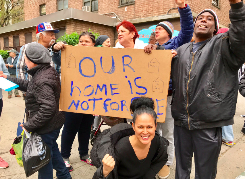 Fighting for NYCHA at Fulton Houses (fightfornycha)