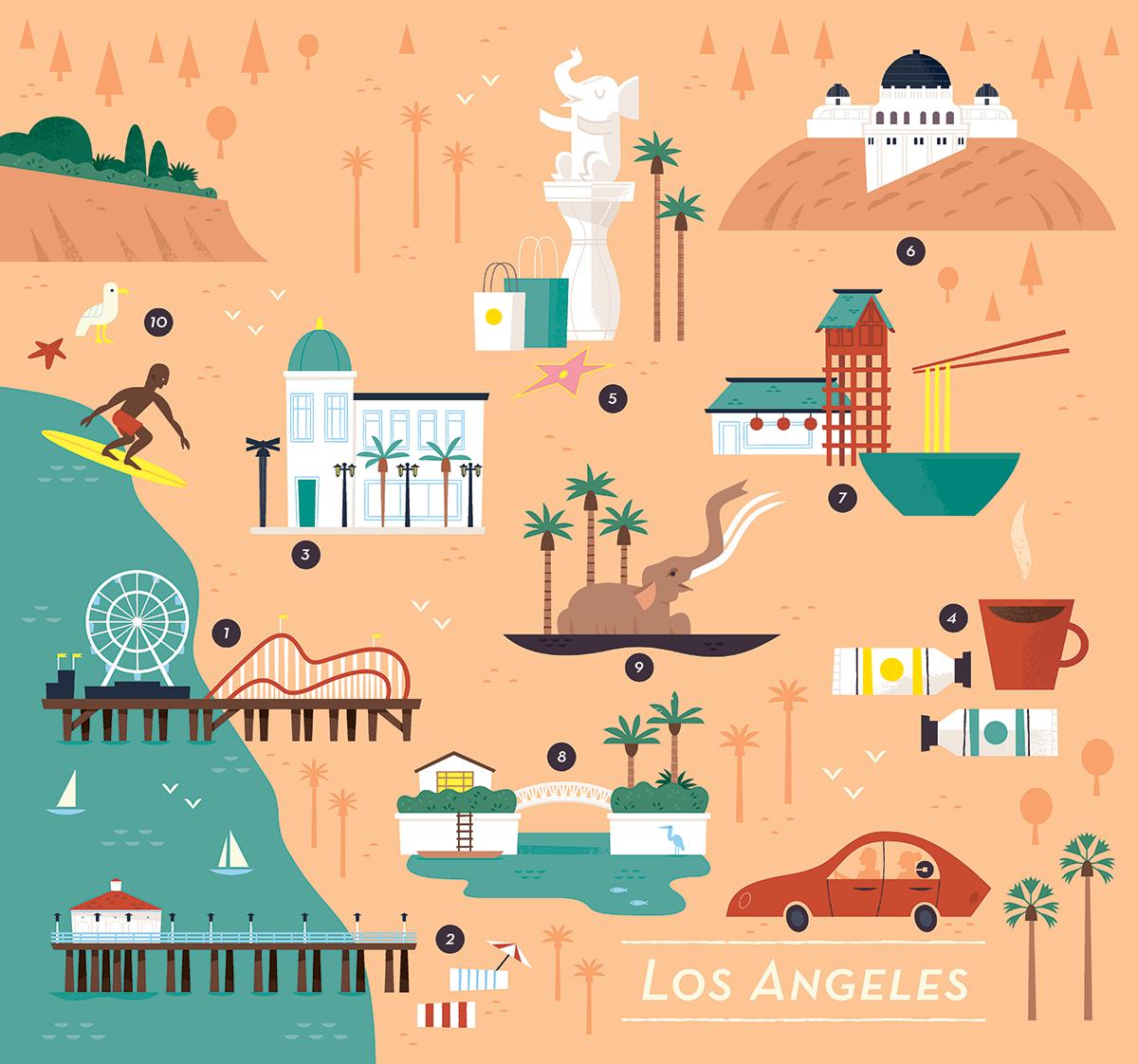 Custom Los Angeles Trip Planning -