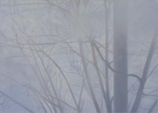 """Tree Study #2  5 x 7""""  oil on panel  2008"""
