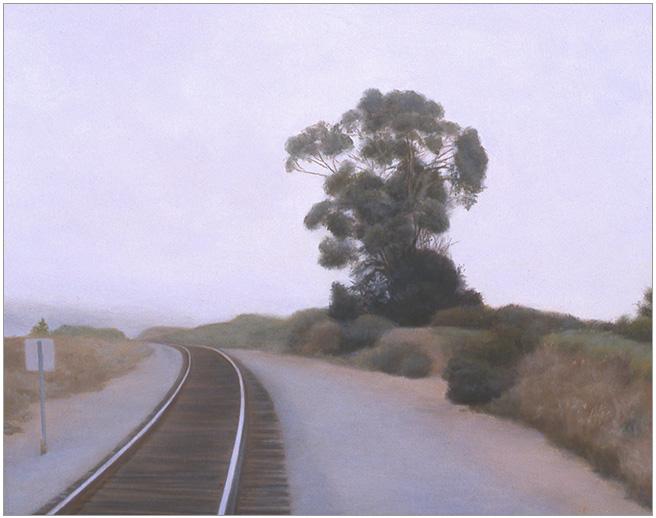 """Still Morning in June  8 x 10""""  oil on panel  2006"""