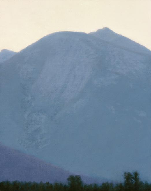 "Early Morning Light, Absaroka Mountains  10 x 8""  oil on linen  2010"