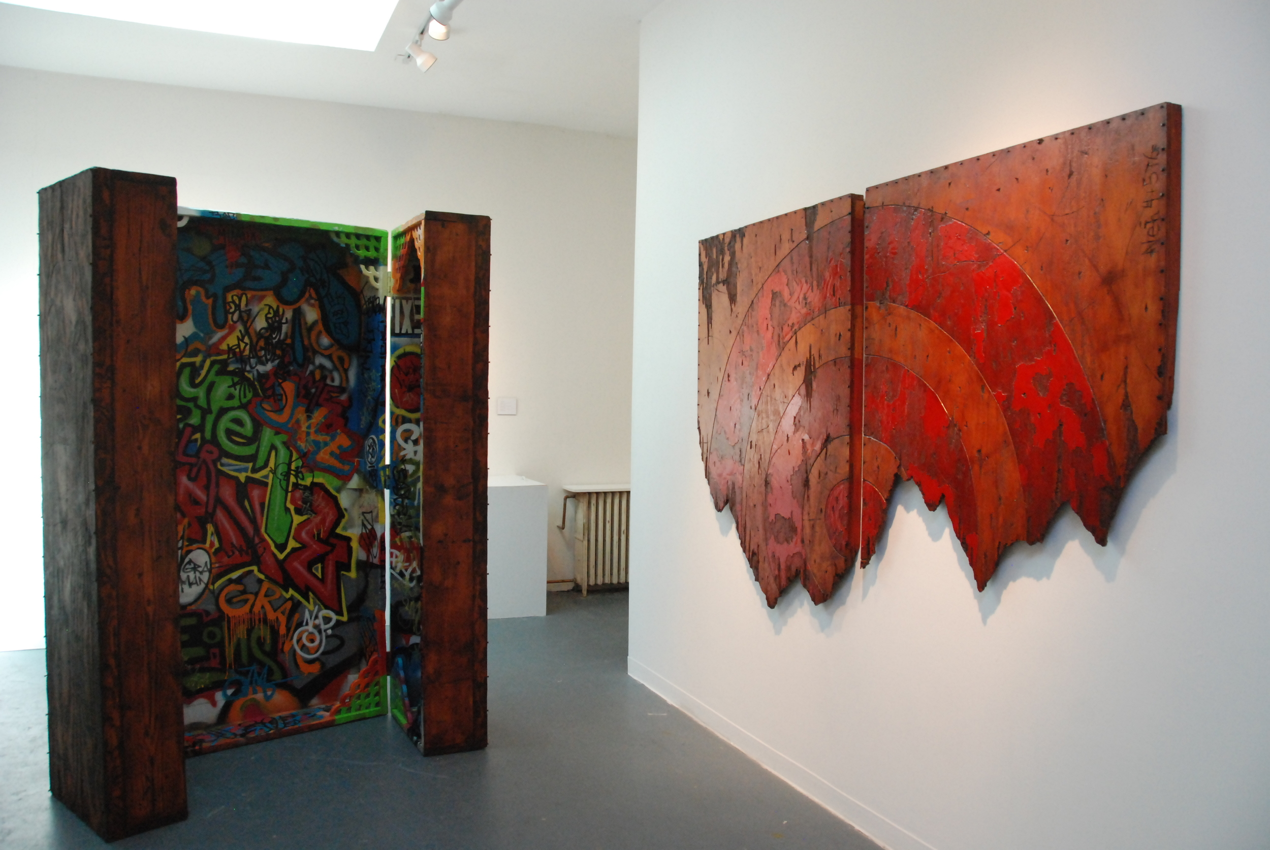 """My Big Black America"" @ Corridor Gallery, Brooklyn, NY - 2015"