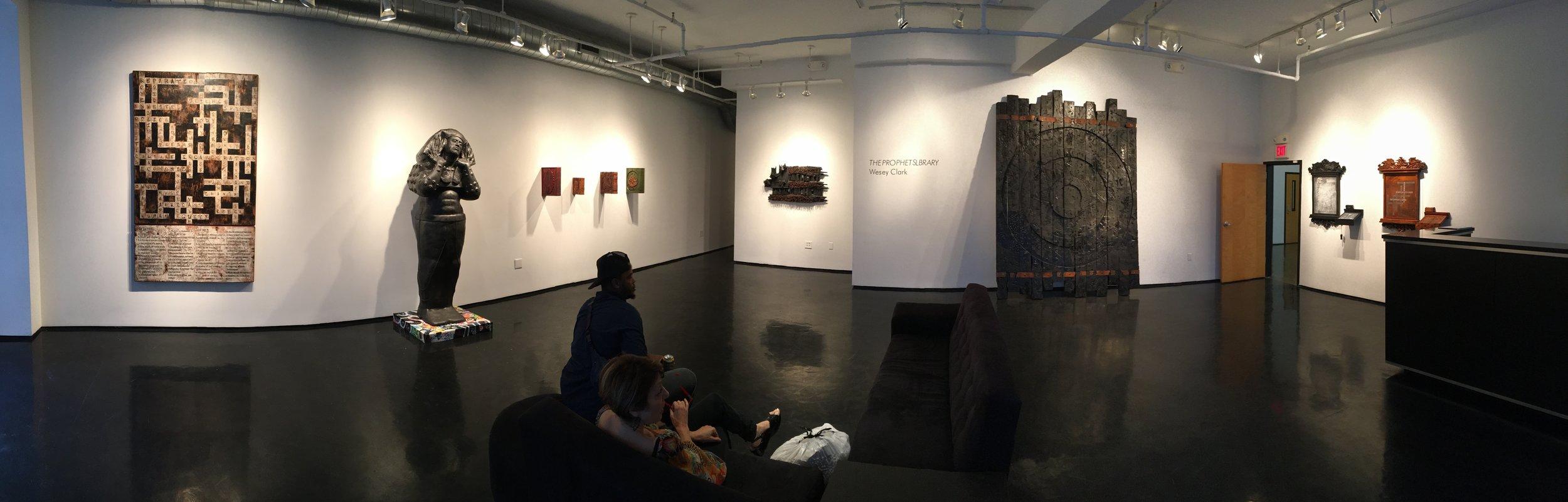"""The Prophet's Library"" @ Tinney Contemporary, Nashville, TN - 2017"