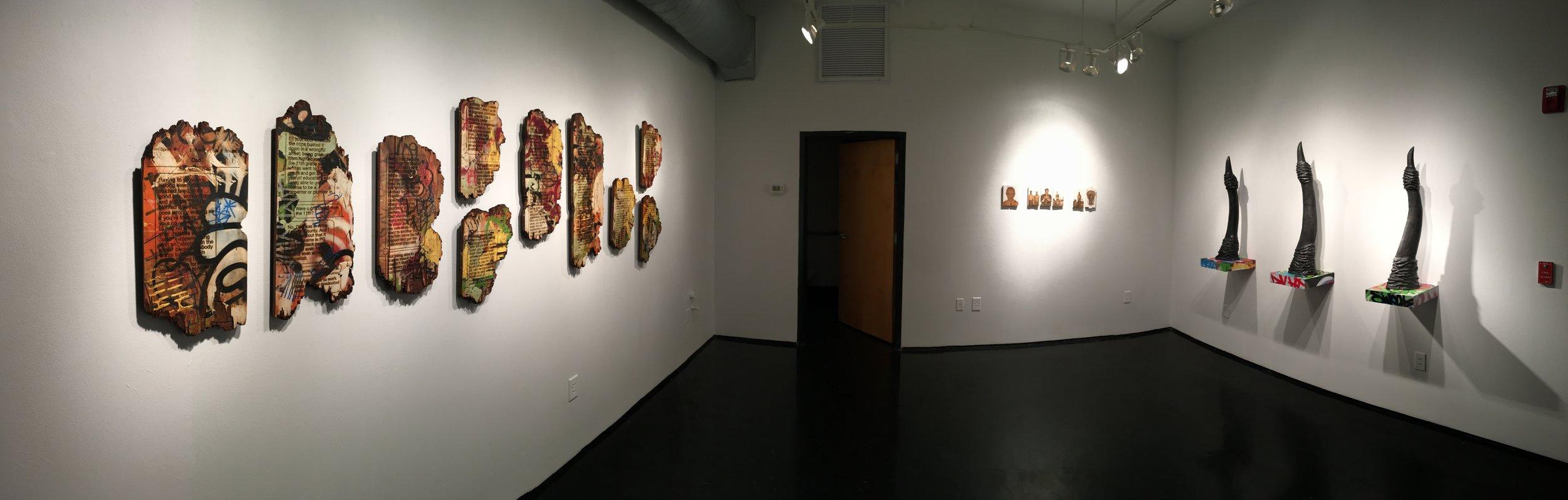 """The Prophet's Library"" @ Tinney Contemporary, Nashville,TN - 2017"