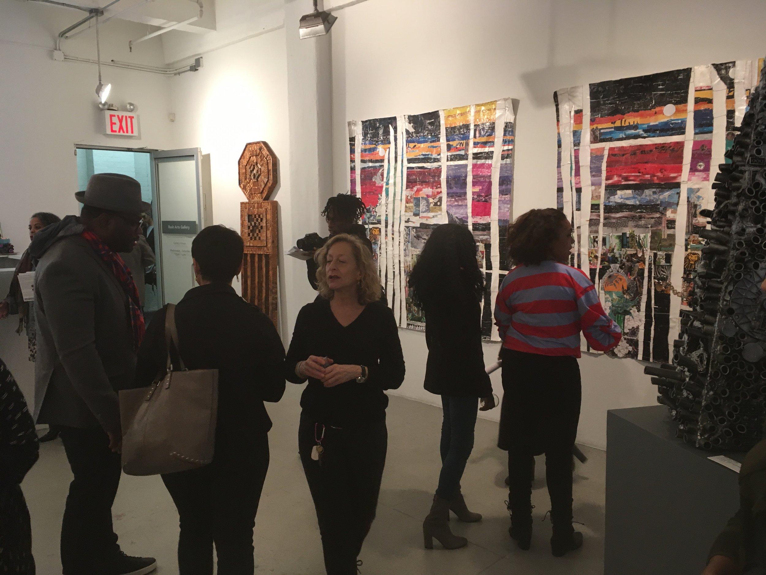 """""""Faculty"""" @ Rush Arts Gallery, New York, NY - 2018"""