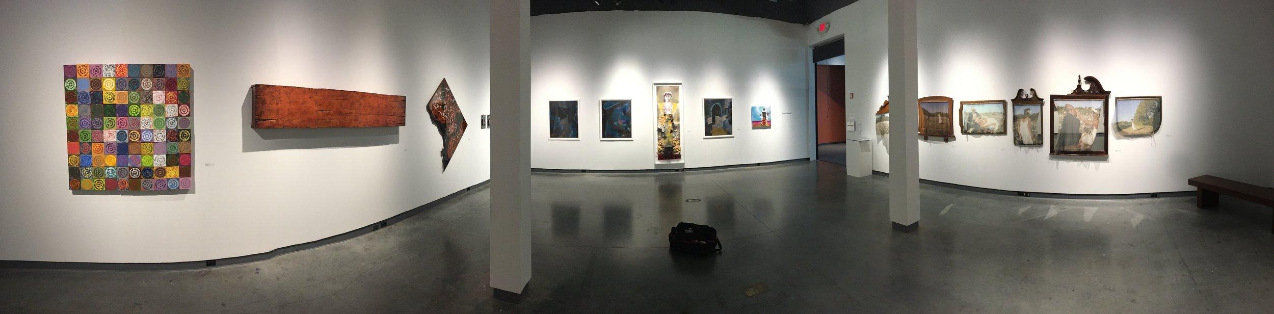 """Spiral, Recoil"" @ The Delaware Contemporary, Wilmington, DE - 2017"