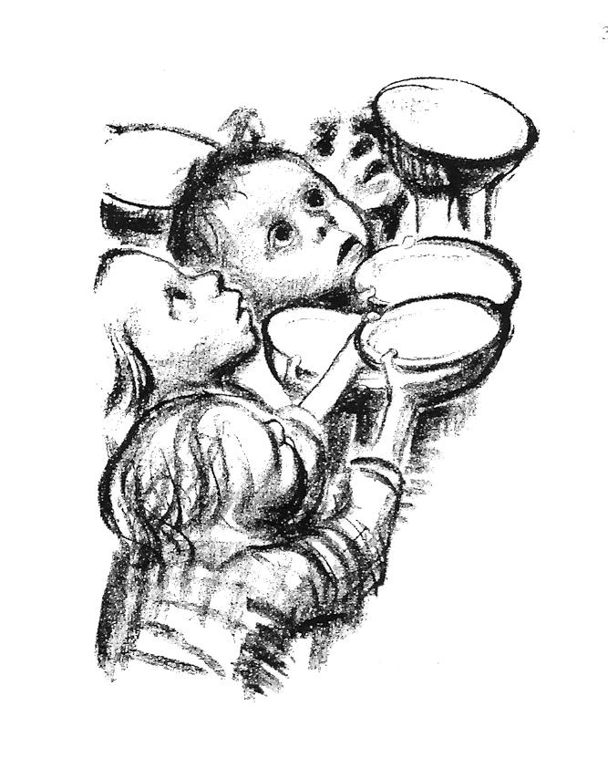 """KOLLWITZ, """"Deutschlands Kinder Hungern"""""""