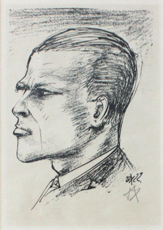 "DIX, ""Self Portrait"""